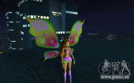 Flora Believix from Winx Club Rockstars pour GTA San Andreas