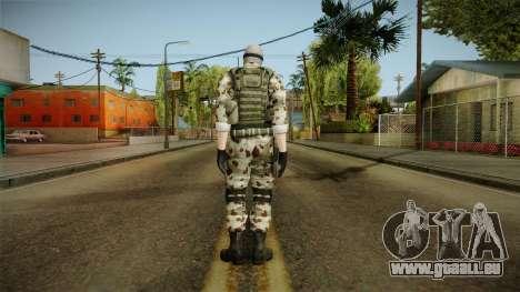 Resident Evil ORC Spec Ops v3 pour GTA San Andreas troisième écran