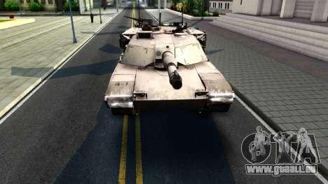M1A1 Abrams COD4MW Remastered für GTA San Andreas linke Ansicht