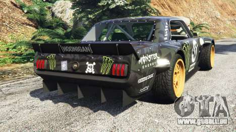 Ford Mustang 1965 Hoonicorn drift [add-on] pour GTA 5