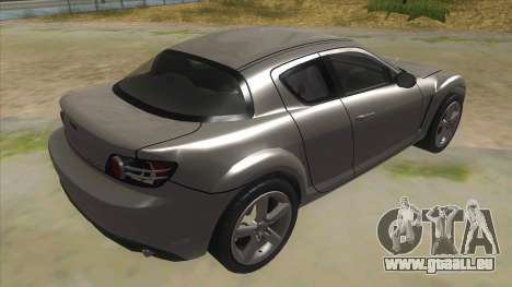 NFS PRO STREET: Mazda RX-8 Tunable für GTA San Andreas rechten Ansicht