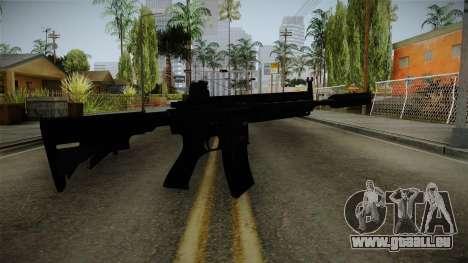 HK416 v3 pour GTA San Andreas deuxième écran