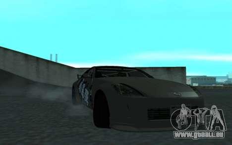 Nissan 350Z pour GTA San Andreas vue de côté
