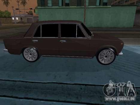 VAZ 2101 arménien pour GTA San Andreas vue intérieure