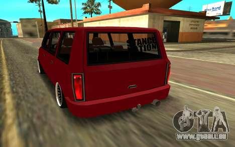 Moonbeam JDM für GTA San Andreas linke Ansicht