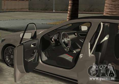 Mercedes-Benz C63 AMG W205 für GTA San Andreas linke Ansicht