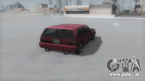 Flash Winter IVF für GTA San Andreas rechten Ansicht