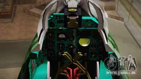 MIG-21 Norvietnamita für GTA San Andreas rechten Ansicht