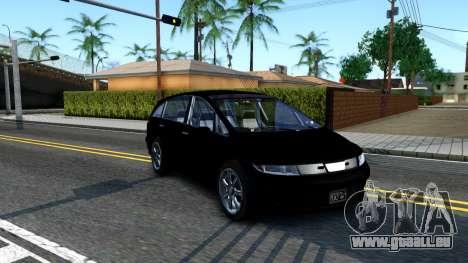 2010 Dinka Perennial Unmarked für GTA San Andreas linke Ansicht