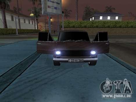 VAZ 2101 arménien pour GTA San Andreas vue de dessous