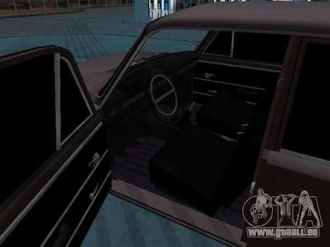VAZ 2101 arménien pour GTA San Andreas sur la vue arrière gauche