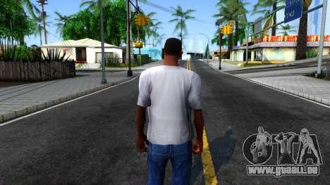 Weezer T-Shirt pour GTA San Andreas troisième écran
