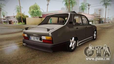 Dacia 1310 Berlina Tunata für GTA San Andreas zurück linke Ansicht