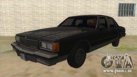 Chevrolet Caprice Brougham 1986 für GTA San Andreas