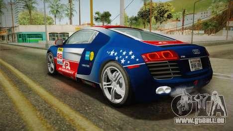 Audi R8 Coupe 4.2 FSI quattro US-Spec v1.0.0 v2 pour GTA San Andreas