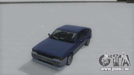 Blista Compact Winter IVF pour GTA San Andreas