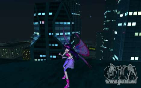 Musa Believix from Winx Club Rockstars für GTA San Andreas zweiten Screenshot