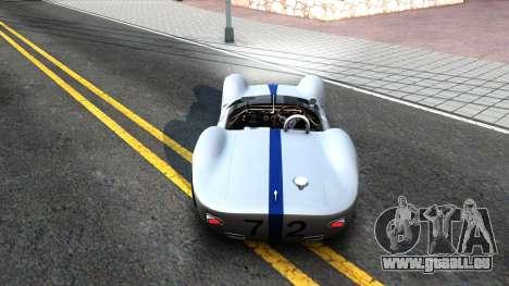 Maserati Tipo 61 pour GTA San Andreas vue de droite