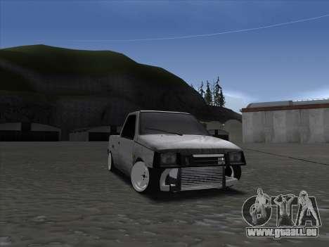 VAZ 1111 Drift für GTA San Andreas Rückansicht