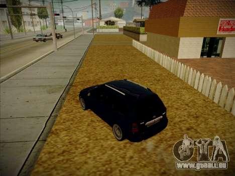 VAZ Kalina 1117 Carélie Édition pour GTA San Andreas laissé vue