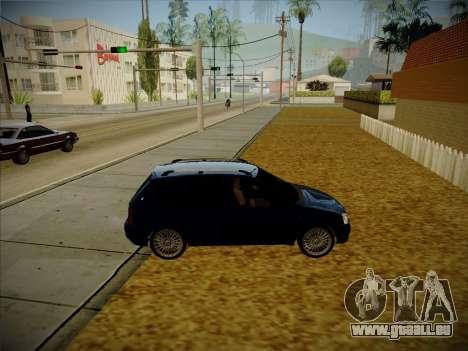 VAZ Kalina 1117 Carélie Édition pour GTA San Andreas vue arrière
