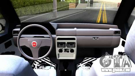 Fiat Uno Fire Mille V1.5 für GTA San Andreas Innenansicht