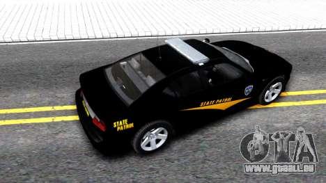 Bravado Buffalo State Patrol 2013 pour GTA San Andreas vue arrière