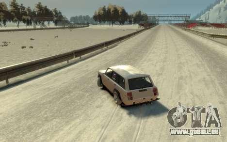 VAZ 2104 VFTS für GTA 4 Rückansicht