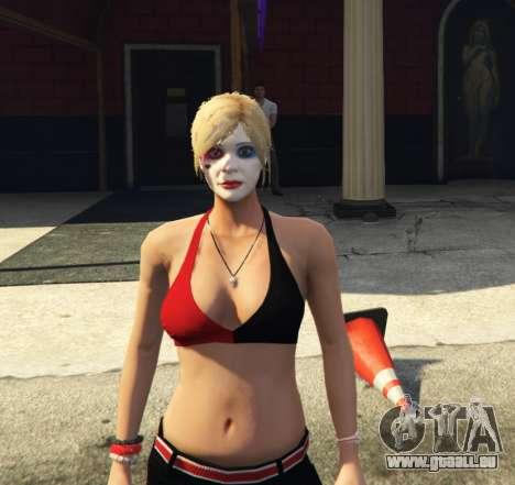 GTA 5 Harley Quinn Tracey troisième capture d'écran