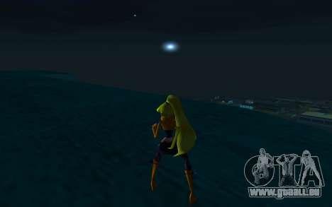 Stella Rock Outfit from Winx Club Rockstars pour GTA San Andreas troisième écran