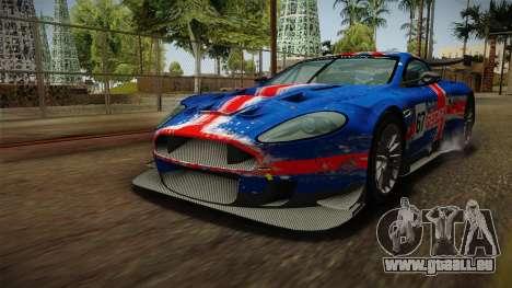 Aston Martin Racing DBR9 2005 v2.0.1 Dirt für GTA San Andreas