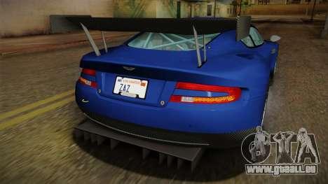 Aston Martin Racing DBR9 2005 v2.0.1 Dirt pour GTA San Andreas moteur