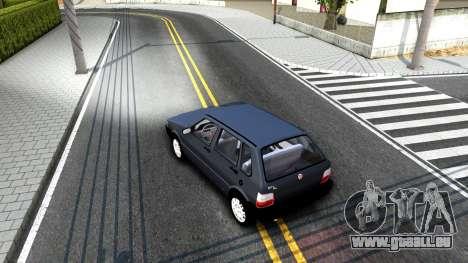 Fiat Uno Fire Mille V1.5 pour GTA San Andreas vue de droite