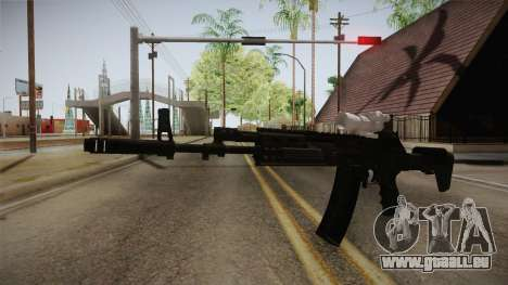 Call of Duty Ghosts - AK-12 with Scope pour GTA San Andreas deuxième écran