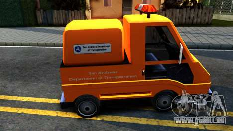 Brute Sweeper SA DOT 1992 für GTA San Andreas linke Ansicht