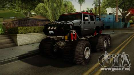 Hummer H2 6x6 Monster für GTA San Andreas