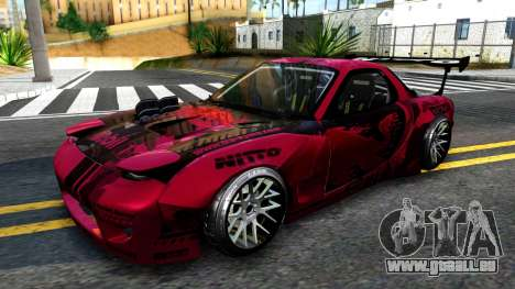 Mazda RX-7 Madbull Rocket Bunny für GTA San Andreas