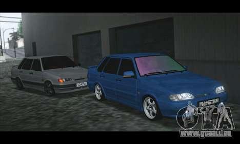 2115 Blau für GTA San Andreas linke Ansicht