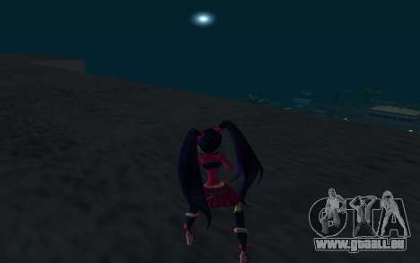 Musa Rock Outfit from Winx Club Rockstars pour GTA San Andreas troisième écran