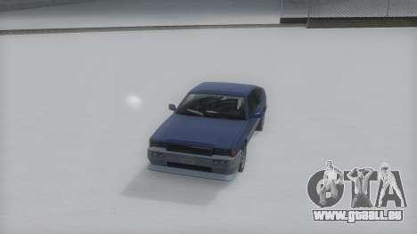 Blista Compact Winter IVF pour GTA San Andreas vue de droite