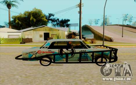 2107 für GTA San Andreas linke Ansicht