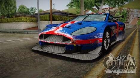 Aston Martin Racing DBRS9 GT3 2006 v1.0.6 YCH v2 für GTA San Andreas