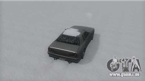 Elegy Winter IVF für GTA San Andreas linke Ansicht