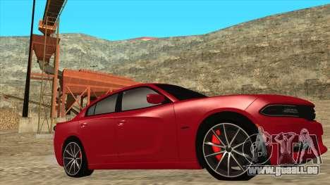 Dodge Charger R/T 2015 für GTA San Andreas linke Ansicht