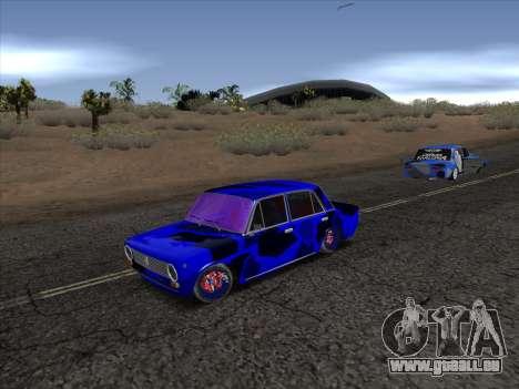 VAZ 2101 BC pour GTA San Andreas laissé vue