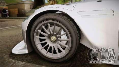 Aston Martin Racing DBR9 2005 v2.0.1 YCH für GTA San Andreas zurück linke Ansicht