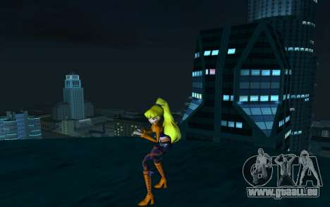 Stella Rock Outfit from Winx Club Rockstars pour GTA San Andreas deuxième écran