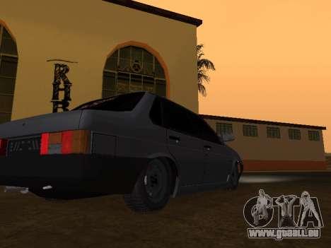 VAZ 21099 BPAN für GTA San Andreas zurück linke Ansicht