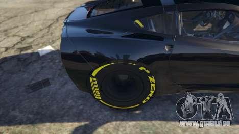 Drag Chevrolet Corvette C7 für GTA 5