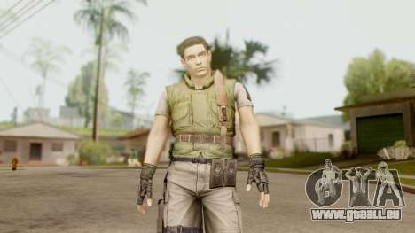 Resident Evil HD - Chris Redfield S.T.A.R.S für GTA San Andreas zweiten Screenshot